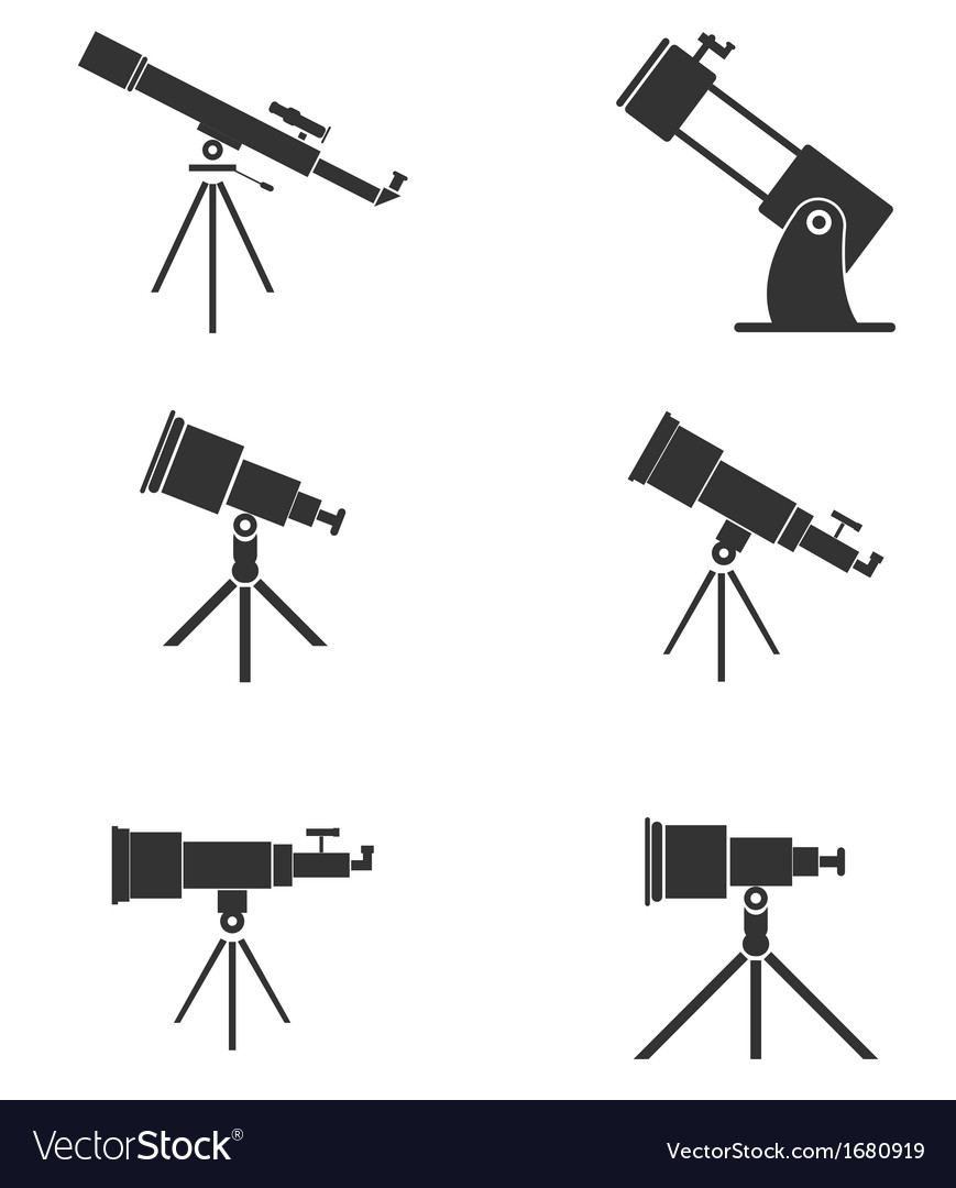 Telescopes vector | Price: 1 Credit (USD $1)