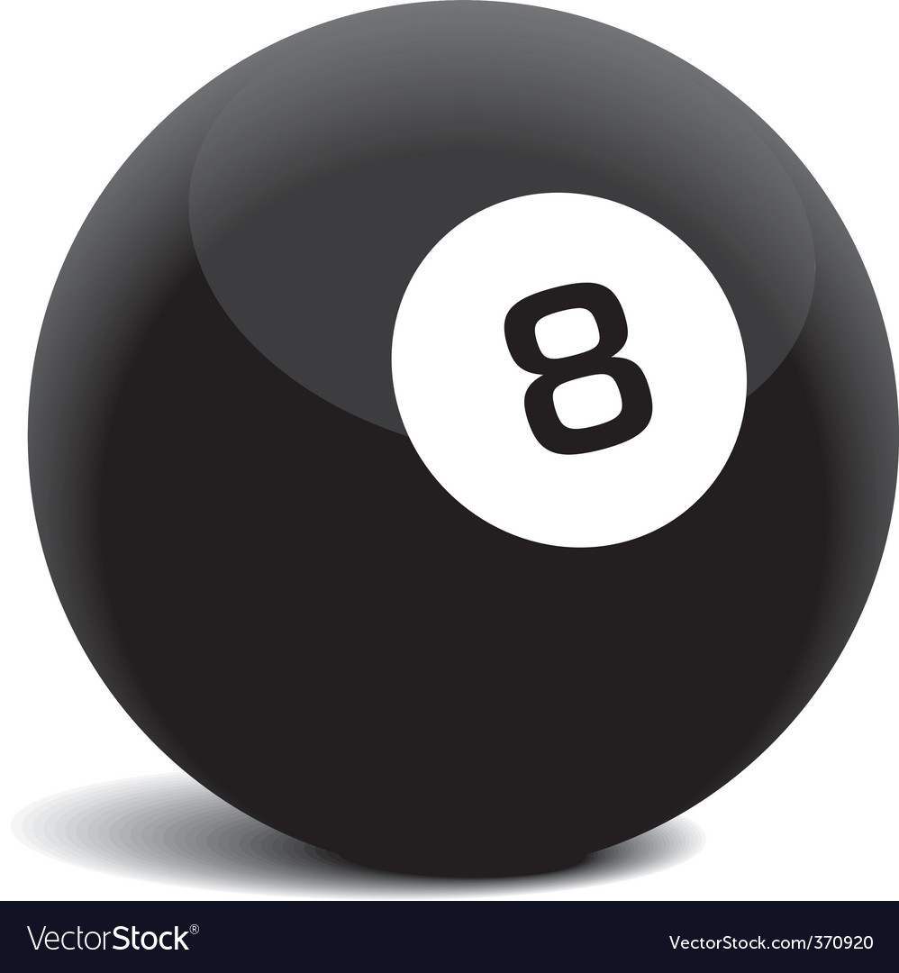 8 ball vector | Price: 1 Credit (USD $1)