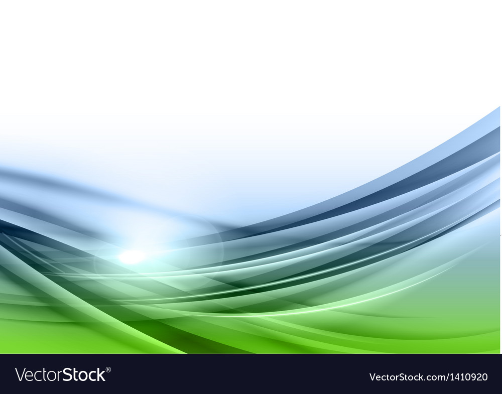 Abstract green blue background downside vector | Price: 1 Credit (USD $1)
