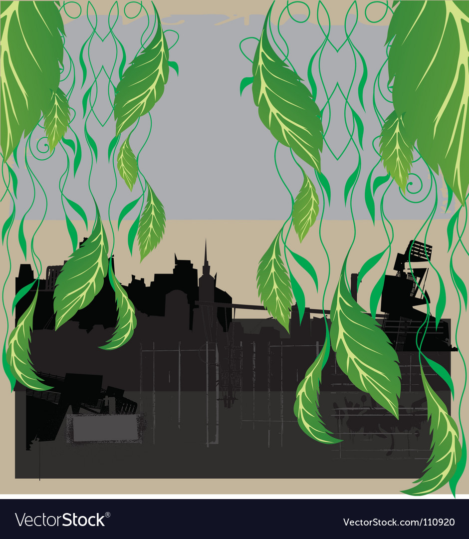 City nature vector | Price: 1 Credit (USD $1)