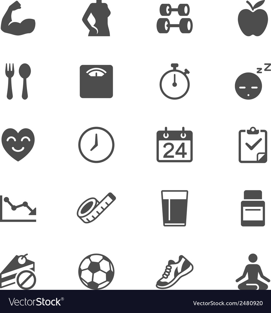 Healthcare flat icons vector | Price: 1 Credit (USD $1)