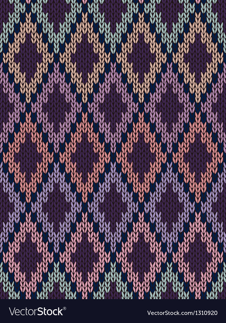 Seamless jacquard ornament texture vector | Price: 1 Credit (USD $1)