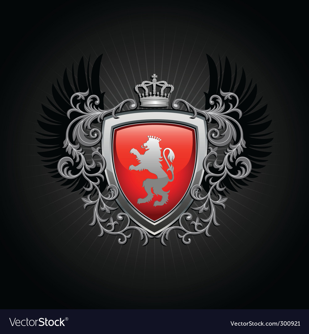 Coat of arms shield vector | Price: 1 Credit (USD $1)
