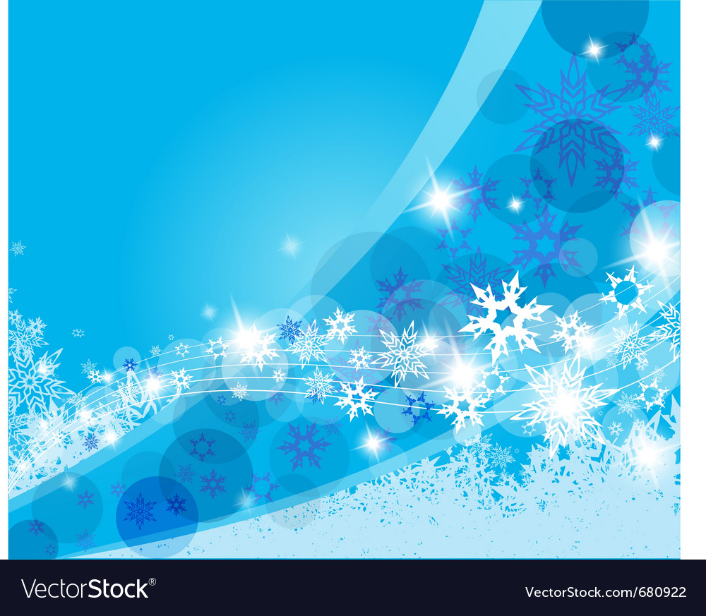 Christmas blue background vector | Price: 1 Credit (USD $1)