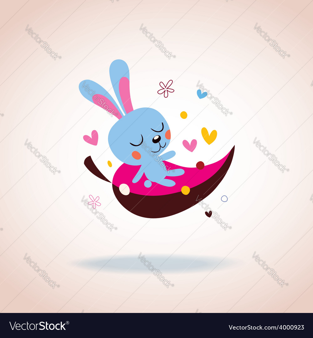 Bunny character vector | Price: 1 Credit (USD $1)
