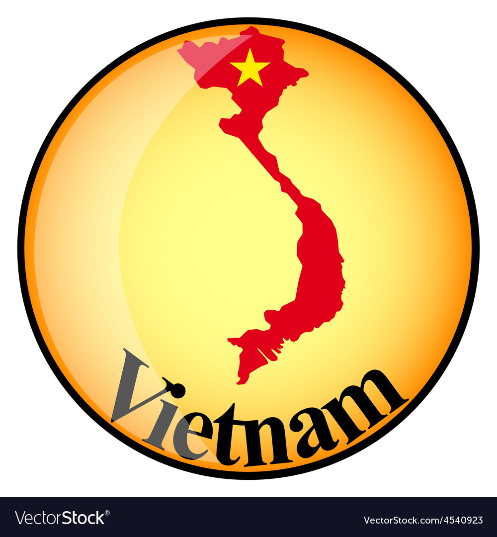 Button vietnam vector | Price: 1 Credit (USD $1)