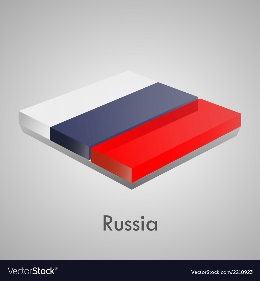 European flags set - russia vector | Price: 1 Credit (USD $1)