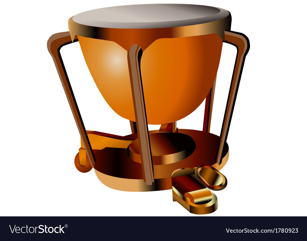 Timpani vector | Price: 1 Credit (USD $1)