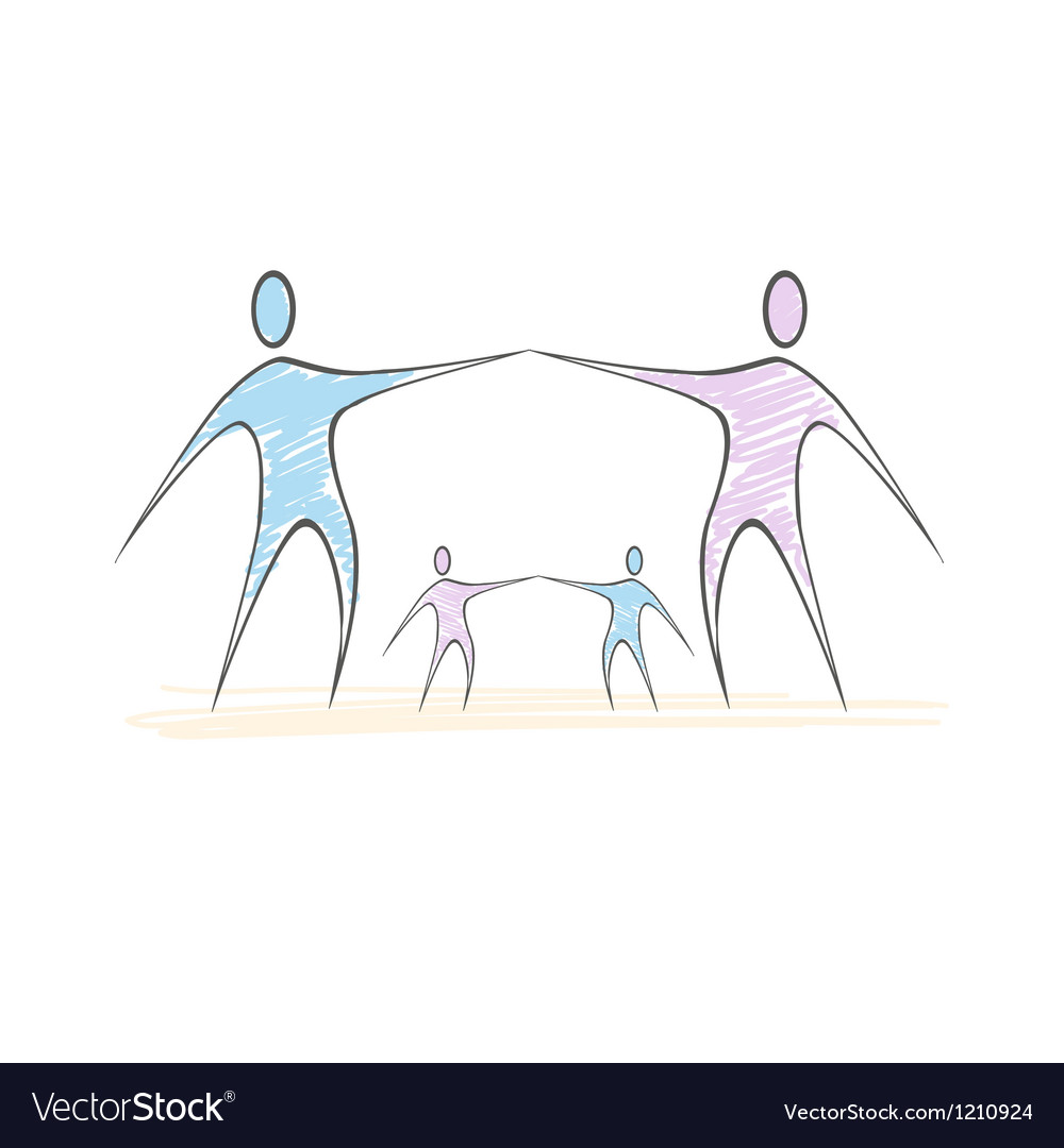 Team symbol collaboaration vector | Price: 1 Credit (USD $1)