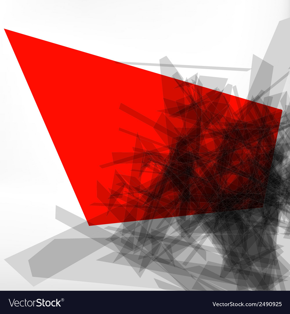 Abstract 3d geometric lines modern design eps 8 vector | Price: 1 Credit (USD $1)