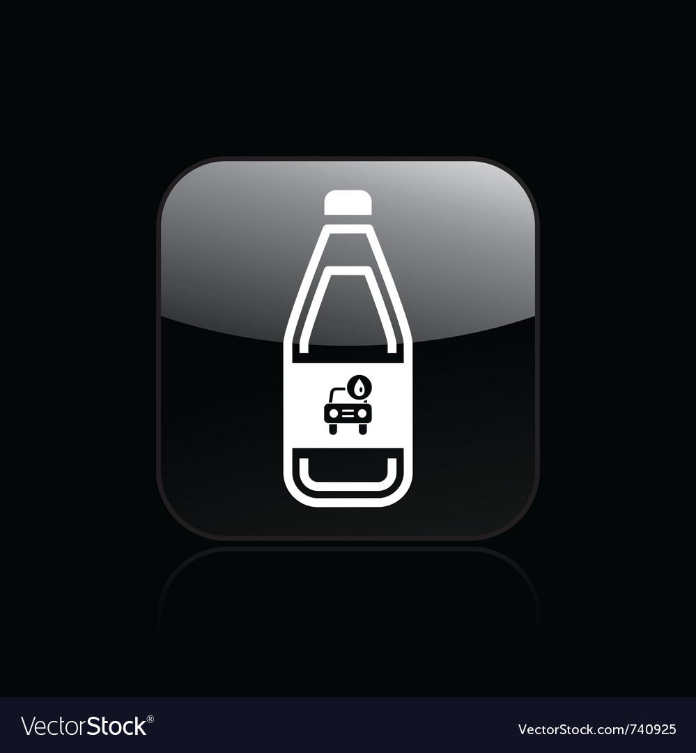 Car liquid icon vector | Price: 1 Credit (USD $1)