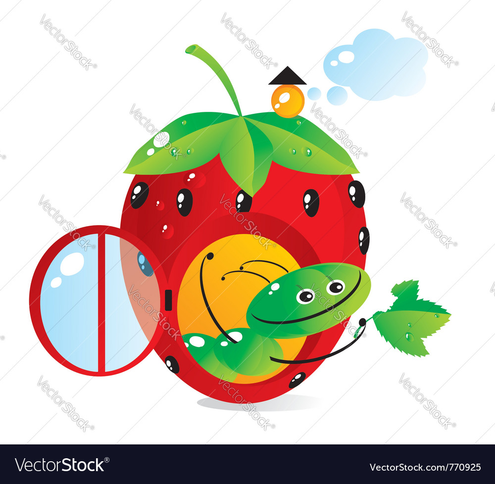 Food catepillar vector | Price: 1 Credit (USD $1)