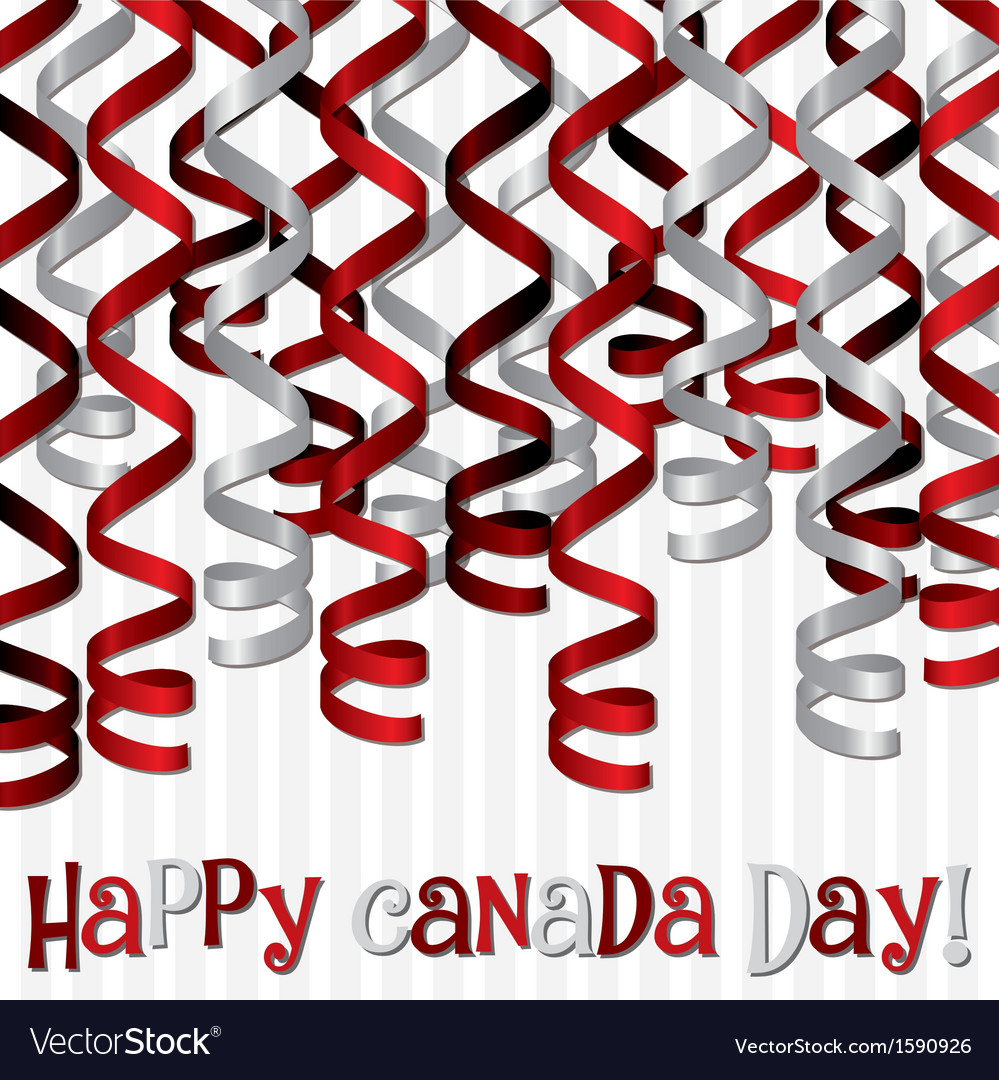 Canada day card vector   Price: 1 Credit (USD $1)