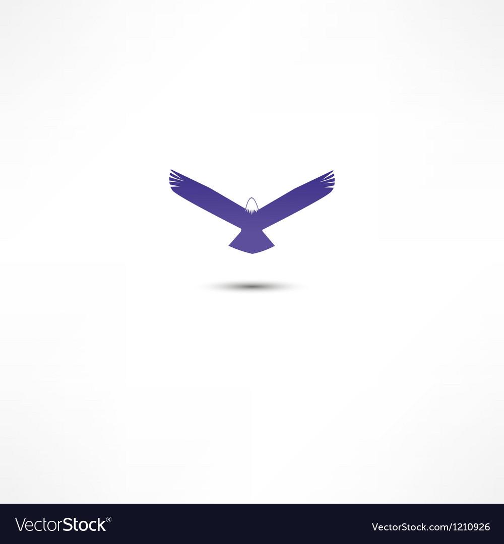 Eagle icon vector | Price: 1 Credit (USD $1)