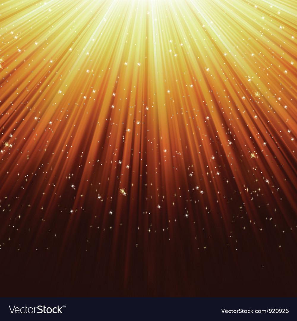 Star light sparkles background vector | Price: 1 Credit (USD $1)
