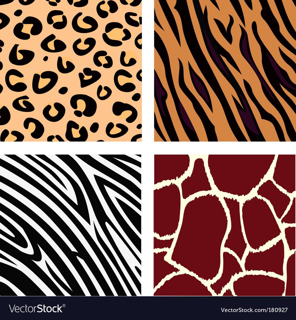 Animal patterns vector | Price: 1 Credit (USD $1)