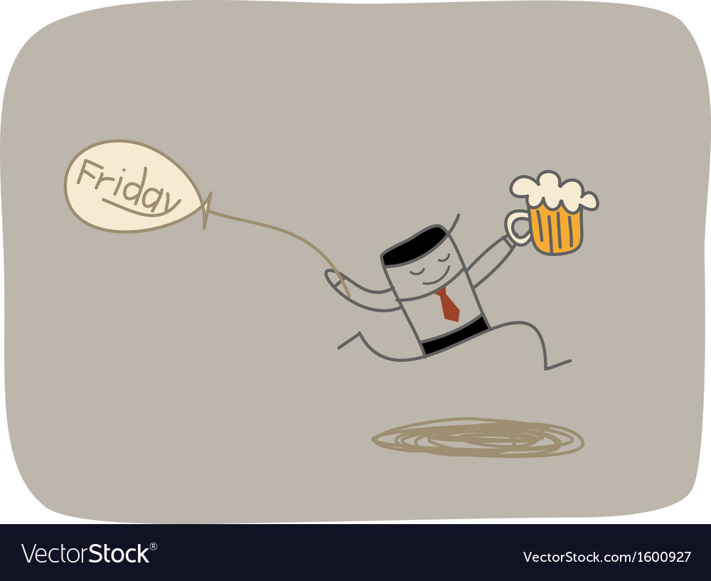 Friday party vector | Price: 1 Credit (USD $1)