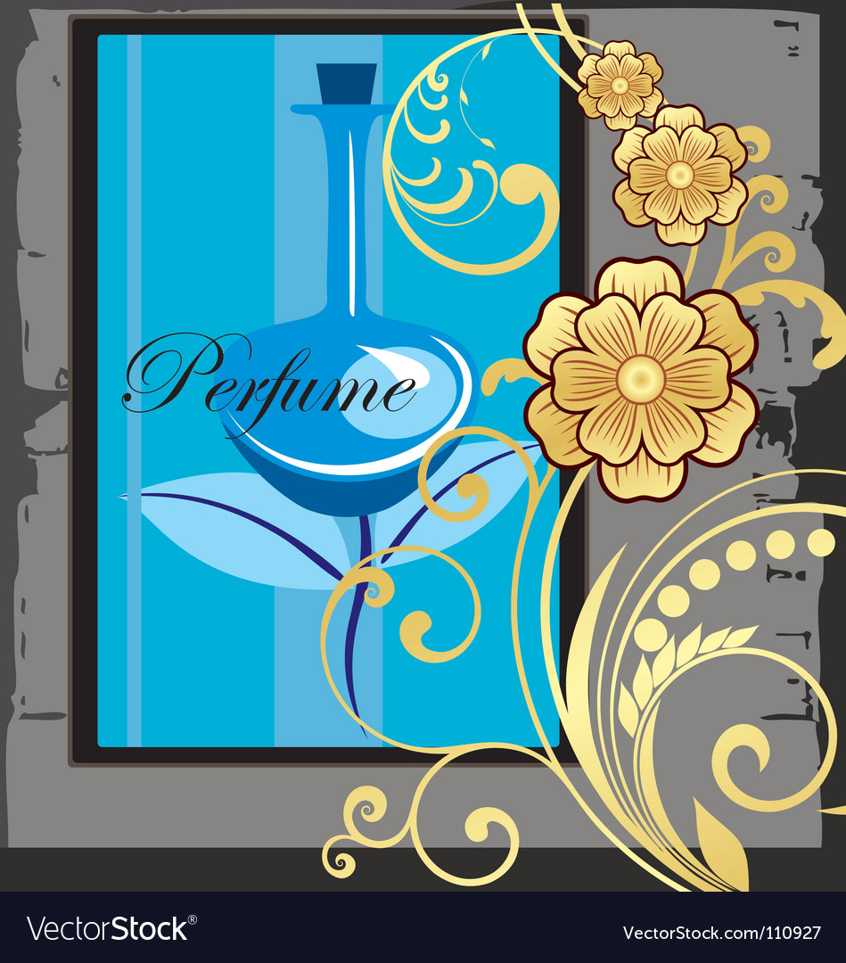 Perfume advert vector | Price: 1 Credit (USD $1)