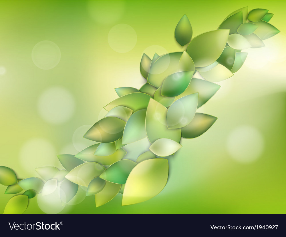 Spring or summer season abstract nature eps 10 vector | Price: 1 Credit (USD $1)