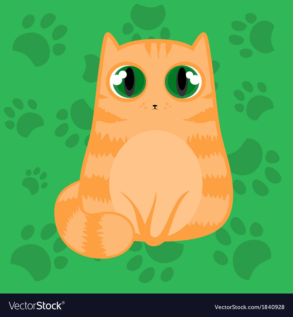 A cat vector | Price: 1 Credit (USD $1)