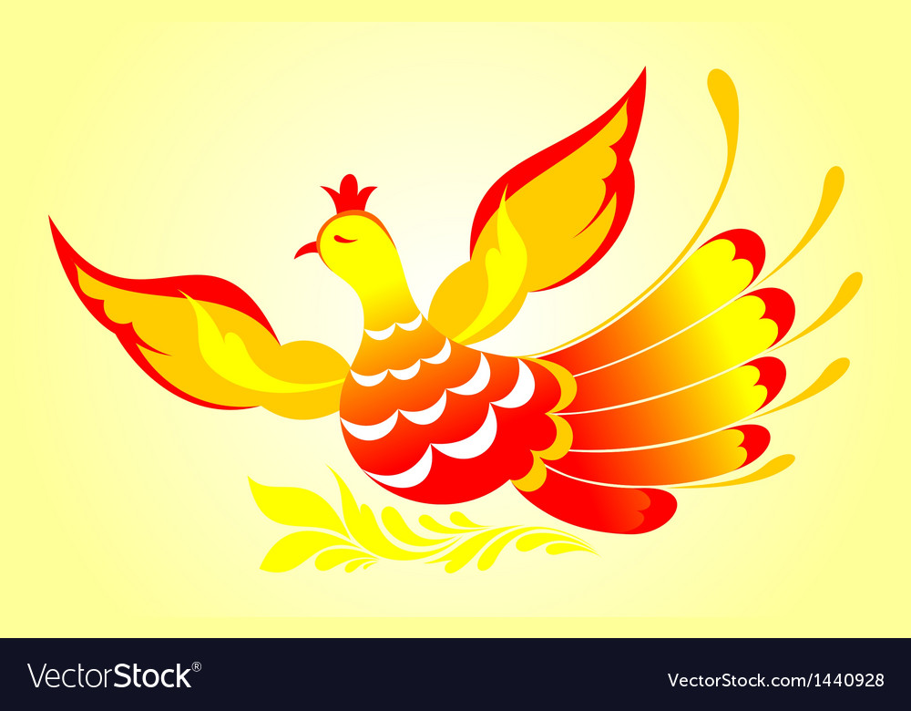 Firebird vector | Price: 1 Credit (USD $1)