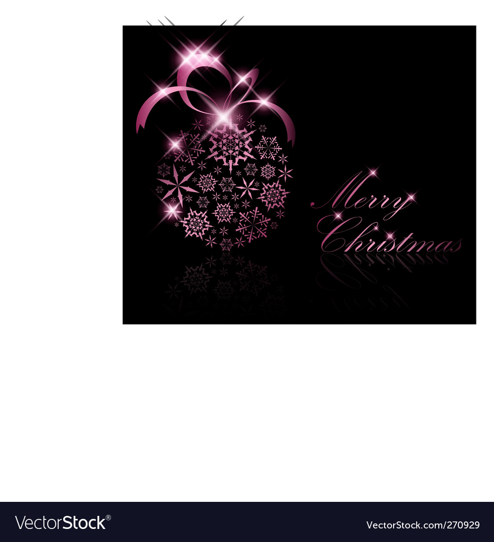 Abstract christmas ball decoration vector | Price: 1 Credit (USD $1)