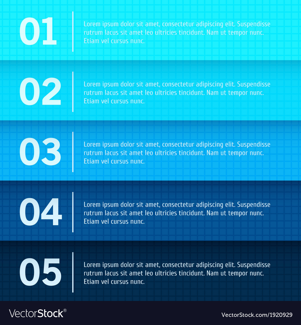 Abstract web design progress background vector   Price: 1 Credit (USD $1)