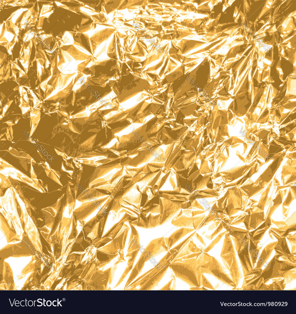 Gold foil texture vector | Price: 1 Credit (USD $1)