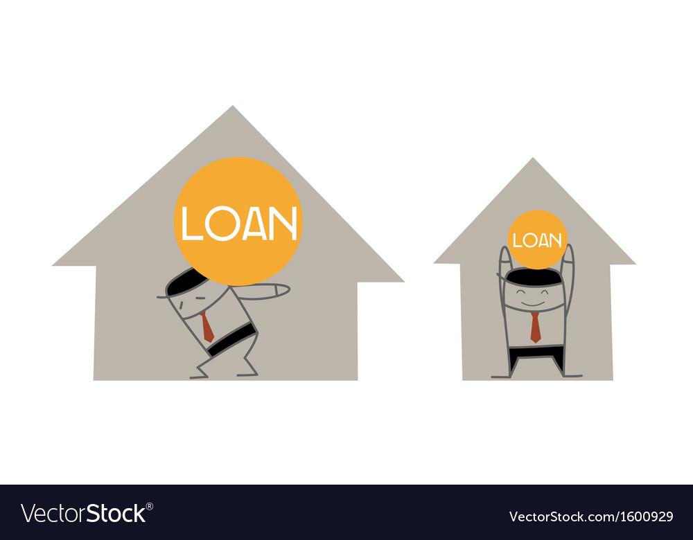 Home loan vector | Price: 1 Credit (USD $1)
