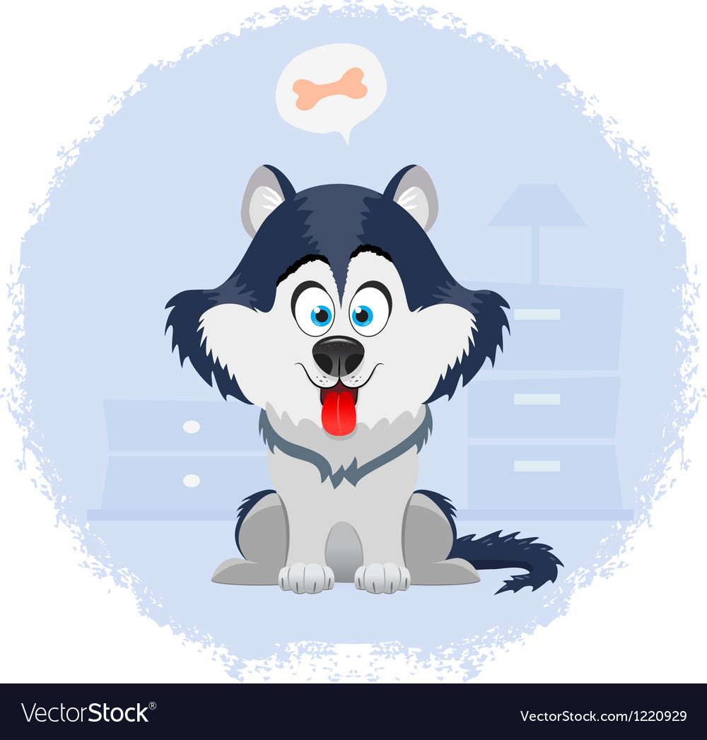 Husky vector | Price: 3 Credit (USD $3)