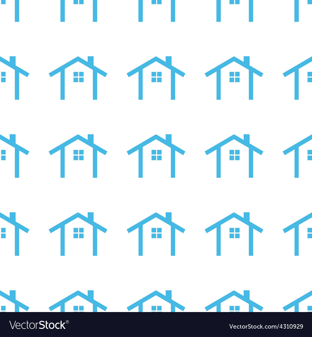 Unique home seamless pattern vector | Price: 1 Credit (USD $1)