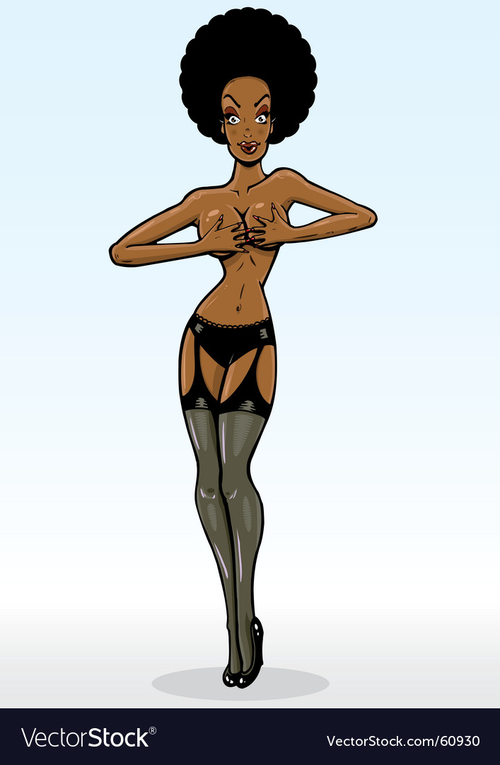 Model pin up vector | Price: 3 Credit (USD $3)