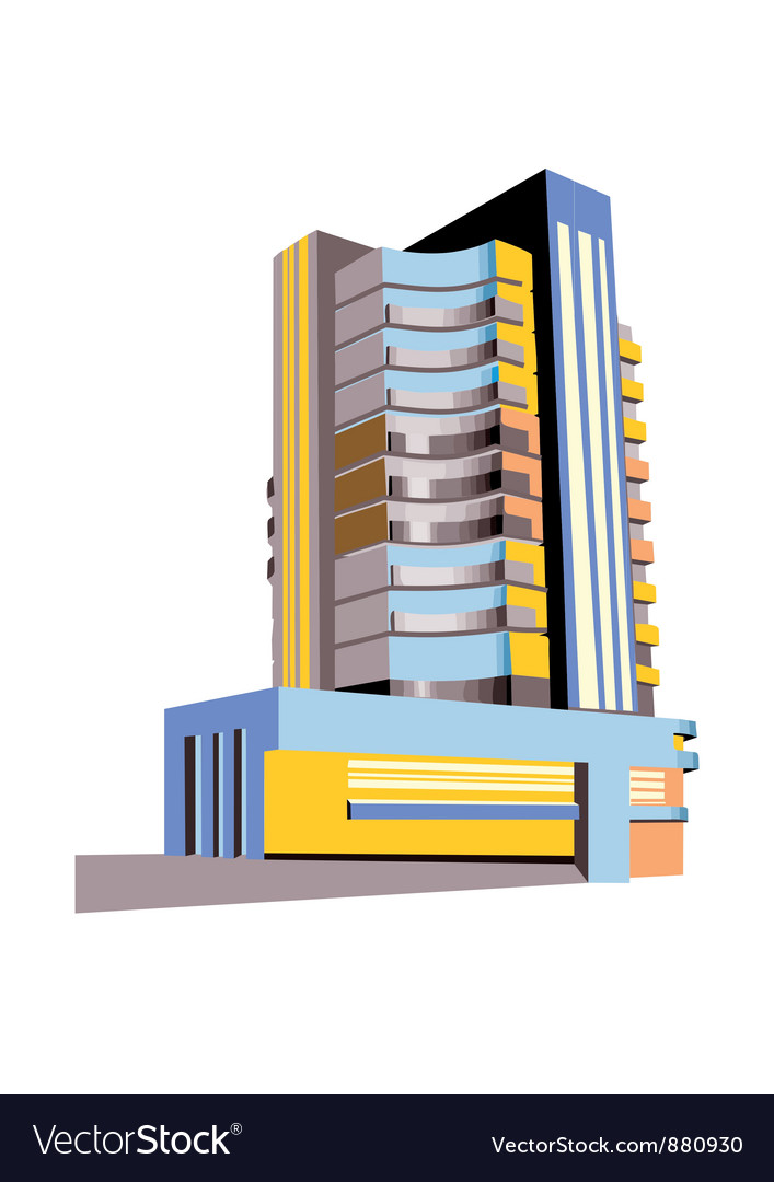 Skyscraper vector | Price: 1 Credit (USD $1)