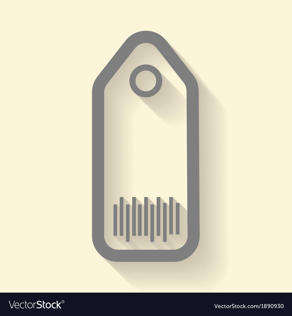 Tag icon vector | Price: 1 Credit (USD $1)