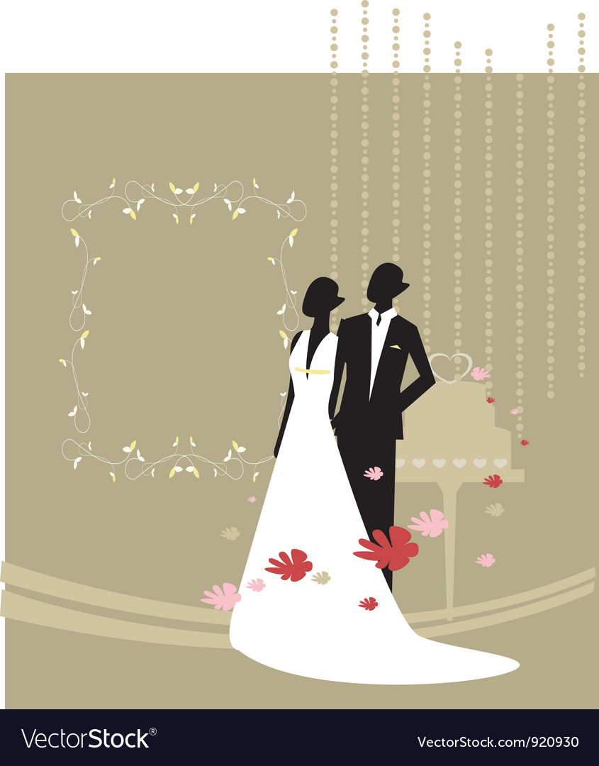 Wedding party invitation vector | Price: 1 Credit (USD $1)