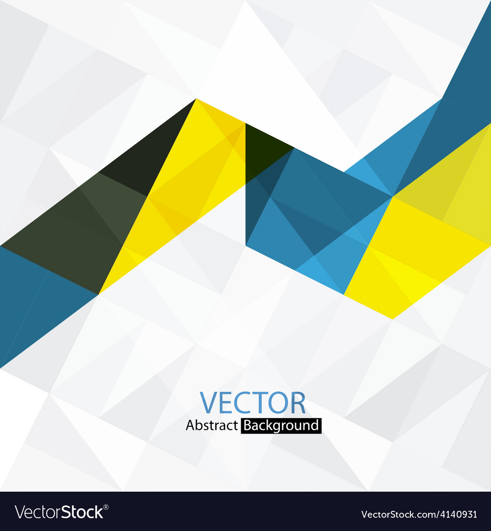 Abstract colorful triangles vector   Price: 1 Credit (USD $1)