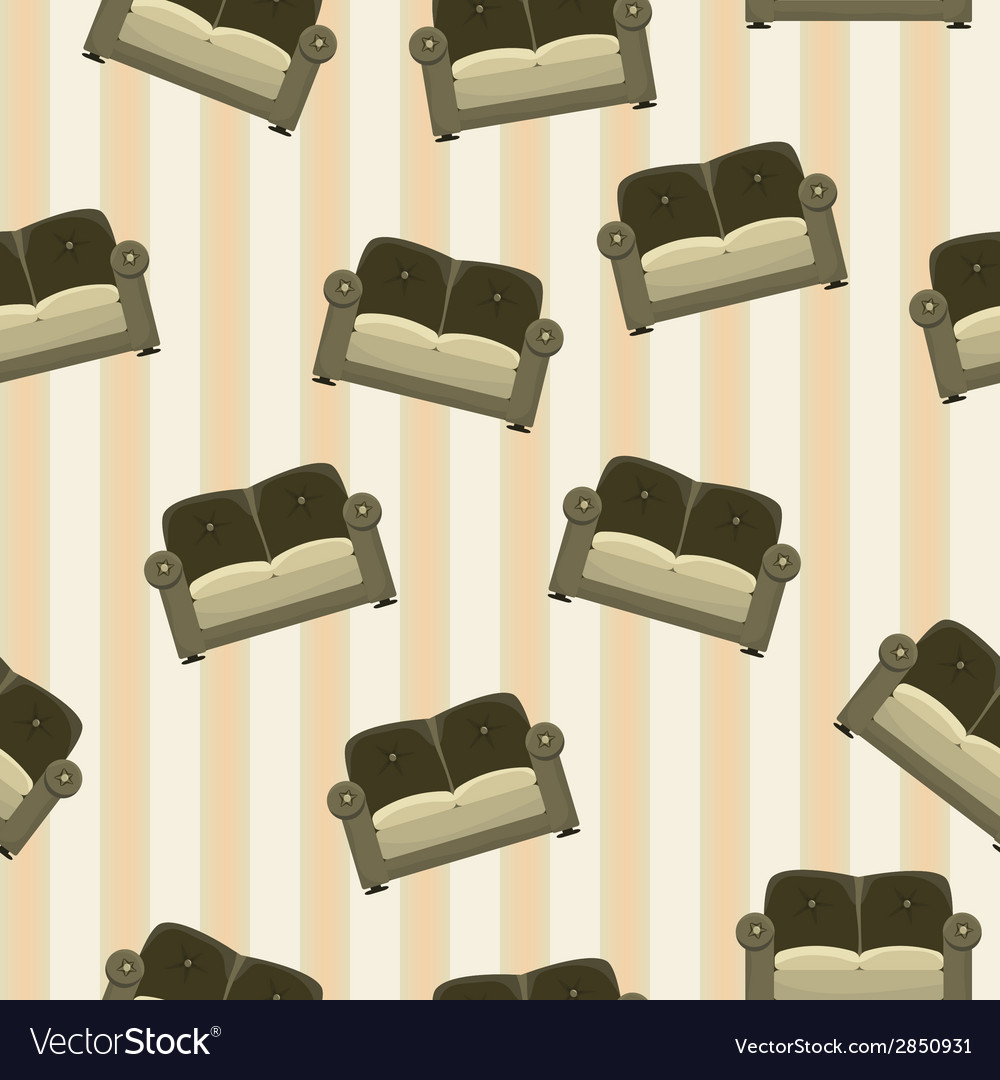 Background with sofas vector | Price: 1 Credit (USD $1)