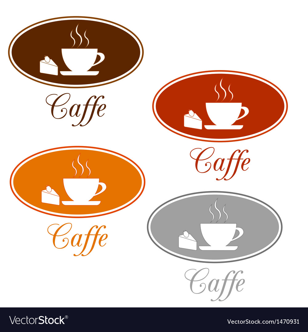 Caffee set design vector | Price: 1 Credit (USD $1)