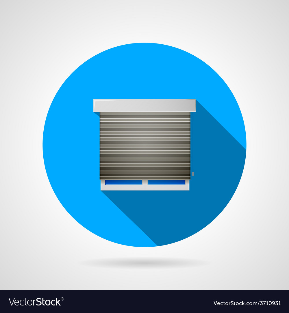 Window flat icon vector | Price: 1 Credit (USD $1)