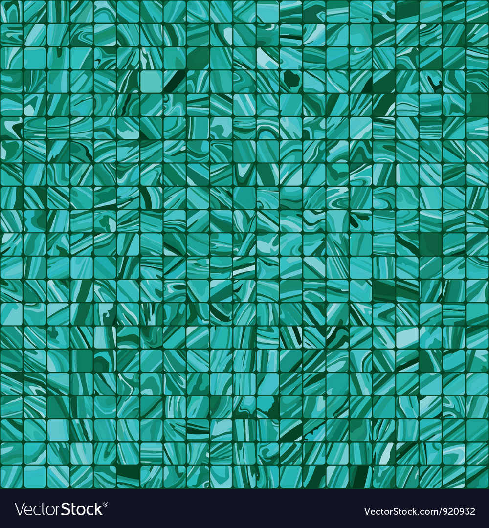 Blue mosaic background vector | Price: 1 Credit (USD $1)