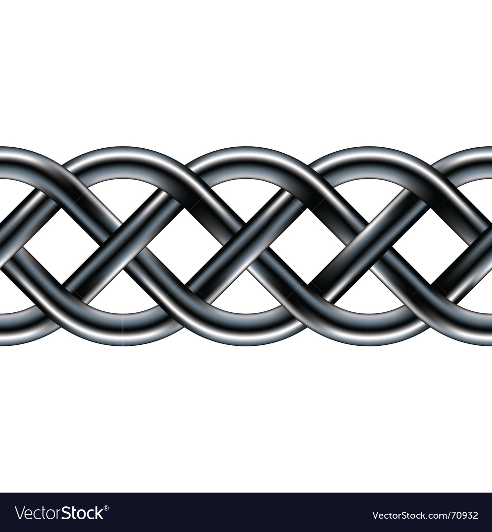Celtic serpentine rope design vector | Price: 1 Credit (USD $1)