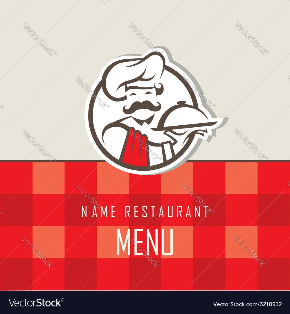 Chef menu design vector | Price: 1 Credit (USD $1)