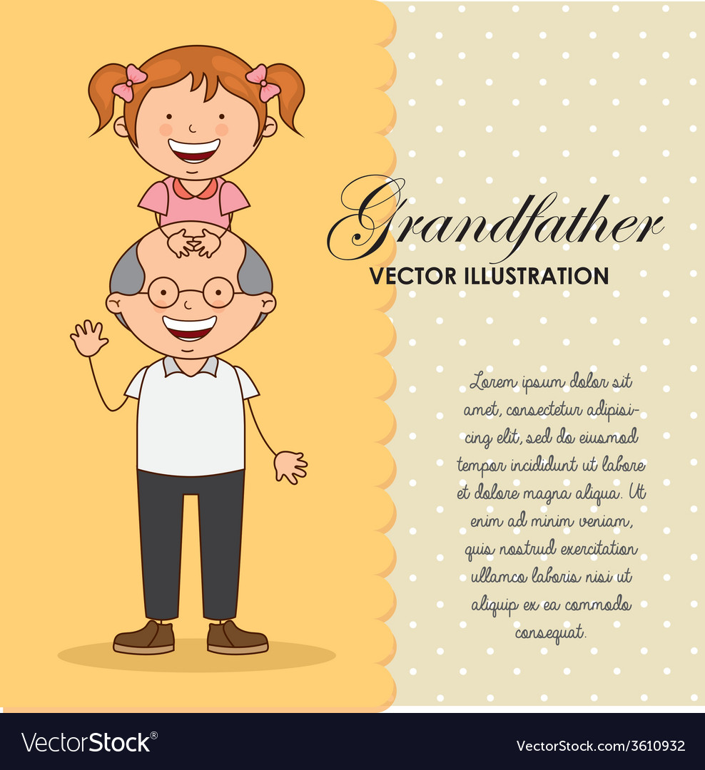 Grandfather vector | Price: 1 Credit (USD $1)