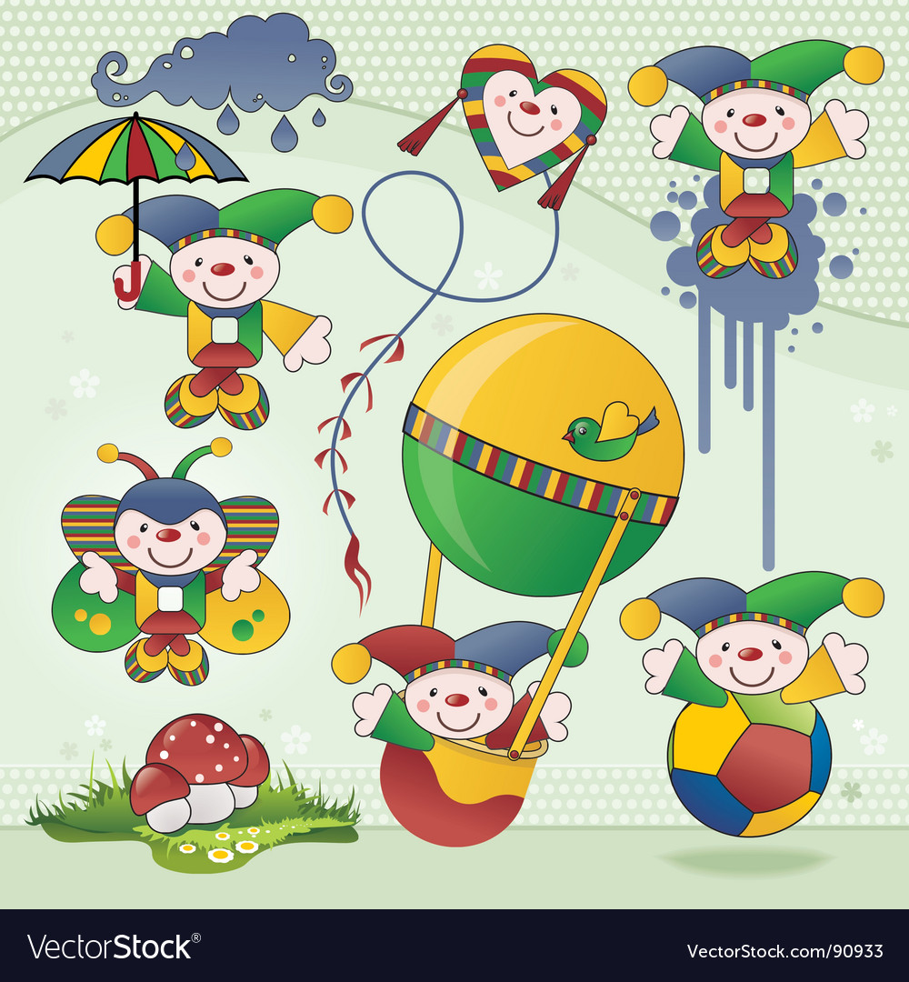 Funny characters vector | Price: 3 Credit (USD $3)
