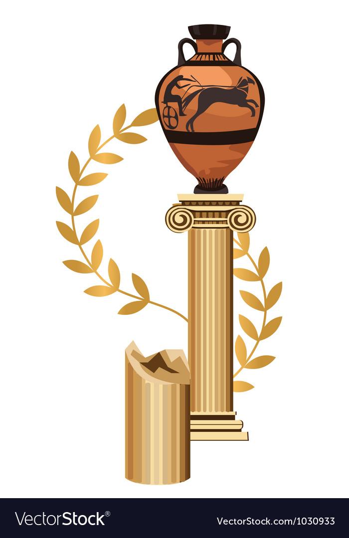 Greek architecture vector   Price: 1 Credit (USD $1)