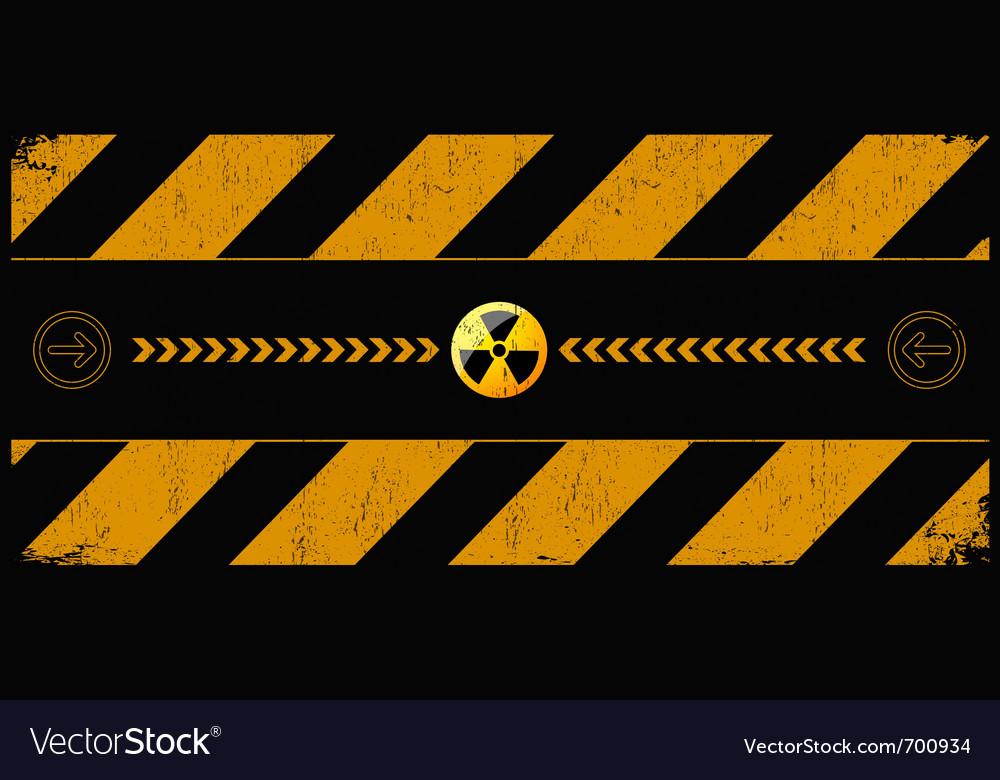 Nuclear dangerund vector | Price: 1 Credit (USD $1)