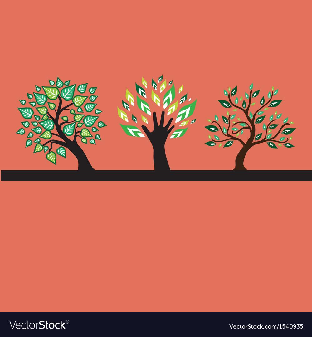 Decorative trees vector   Price: 1 Credit (USD $1)