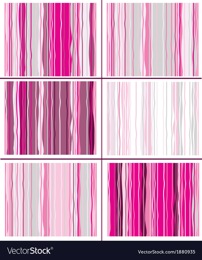 Pink striped pattern vector | Price: 1 Credit (USD $1)