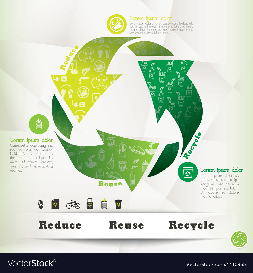 Recycle concept graphic element vector | Price: 1 Credit (USD $1)