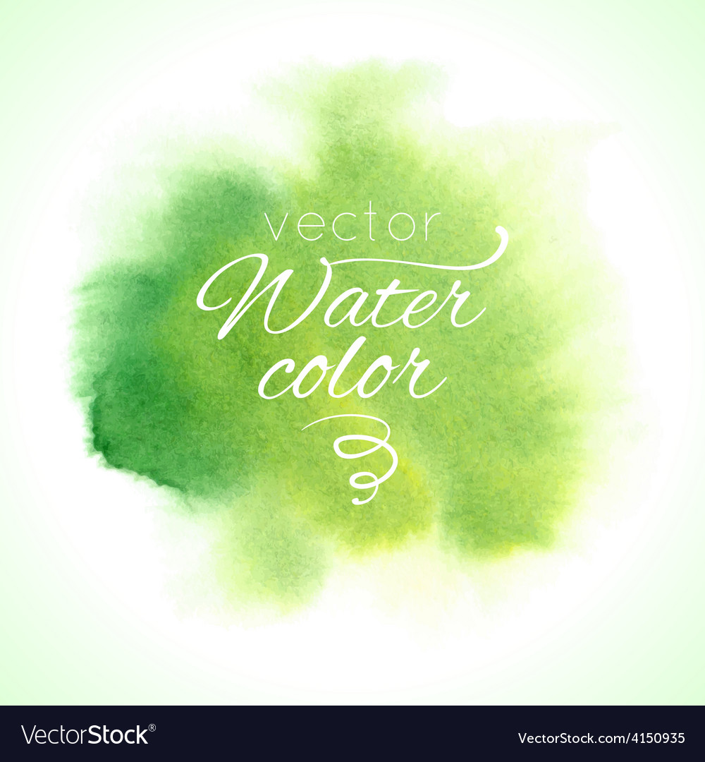 Watercolor abstract colorful textured background vector | Price: 1 Credit (USD $1)